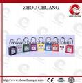 ZC-G01 38mm剛材質鎖梁工業安全挂鎖 5