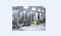 Green tea beverage production line