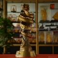 铜雕工艺品天龙八部龙杯