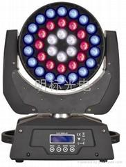 36颗四合一LED摇头染色灯