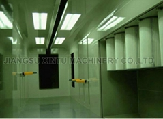 Automated Powder Coating Spray Booth