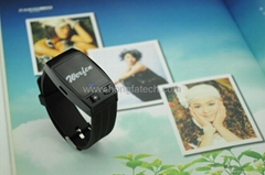 Smart Bluetooth Bracelet, Support Music Playing