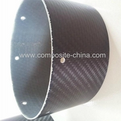 High Strength Carbon Fiber Muffler Pipe
