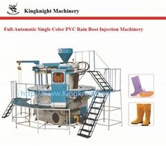 single color PVC rain boot   injection mashine