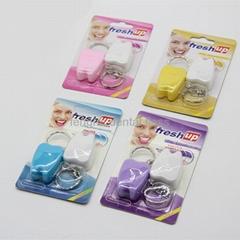 FDA dental floss with keychain