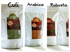Arabia Robusta Culi Kopi Luwak Roasted Coffee Beans