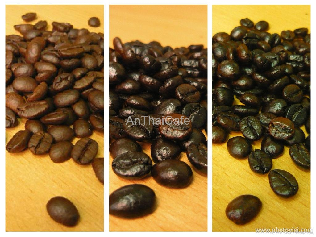 Robusta Roasted Coffee Beans 1