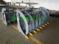 grass grapple attachment for skid steer