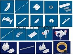 89mm,127mm vertical blinds components