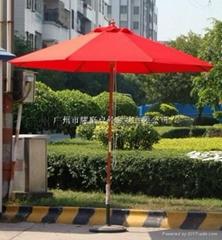中柱太陽傘