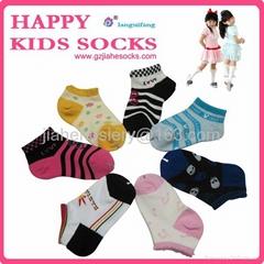 中国袜子工厂定制纯棉儿童袜子