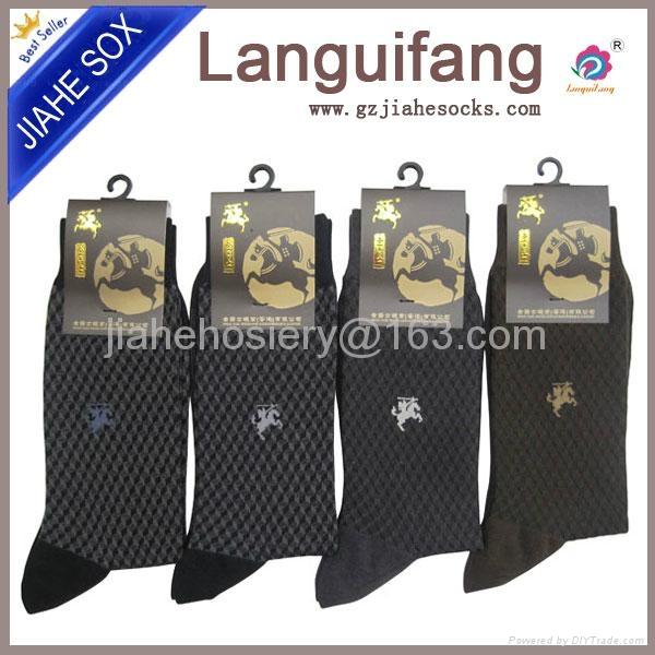 中國襪廠設計男正裝襪 2