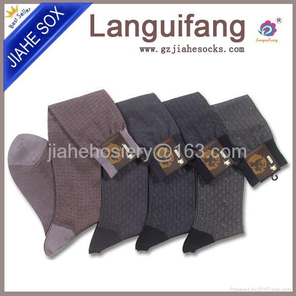 中國襪廠設計男正裝襪 5