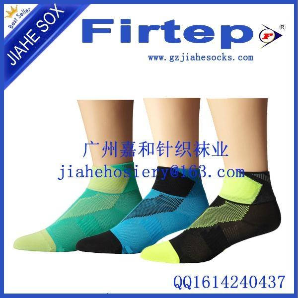 中國針織襪業製造商定製純棉運動襪 1