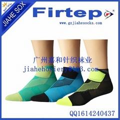 中國針織襪業製造商定製純棉運動襪