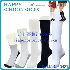 定制学校学生袜