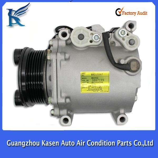 MCS90C electric 12v auto ac compressor for MITSUBISHI OUTLANDER - KS
