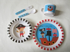 melamine kid dinnerware