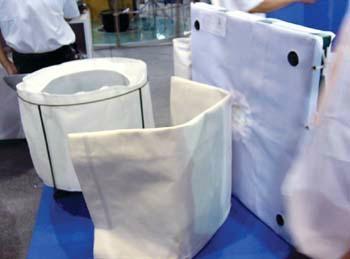 滌綸防靜電903耐酸過濾布袋 2