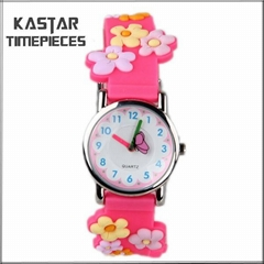 kid silicone watch waterproof