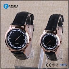 man and lady quartz valentine gift watch