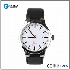 brand leather gift watch factory china