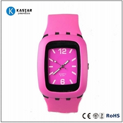 promotional gifts silicone watch japan movement