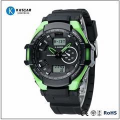 3 bar 2015 digital watch stainless steel back water resistant
