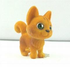 提供植絨植毛仿真動物公仔塑膠儿童玩具產品