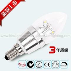 E14水晶燈4W小螺口超高亮led光源