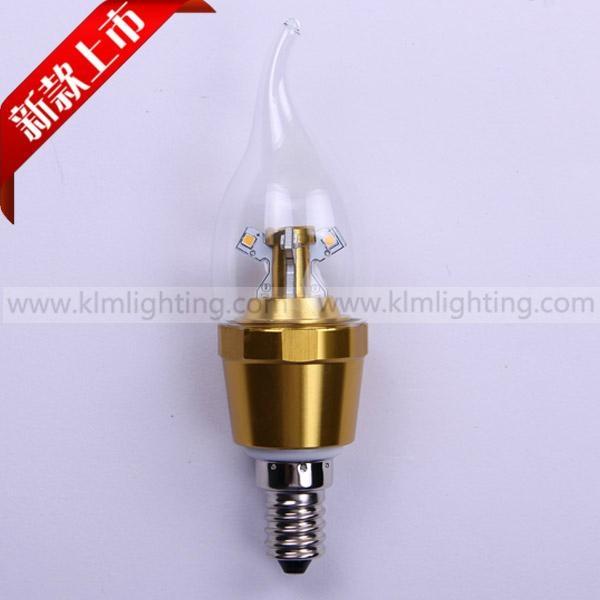Dimmable E14 E27 E12 B22 4W LED Candle Light LED bulb lamp 2