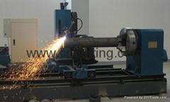 cnc steel pipe profile flame and plasma cutting machine