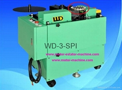 Ceiling fan stator paper wedge inserting machine