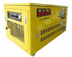 10KW汽油多燃料水冷靜音發電機