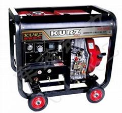 190A三相柴油发电电焊两用机