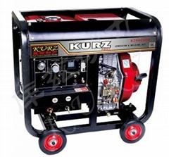 250A柴油发电电焊两用机
