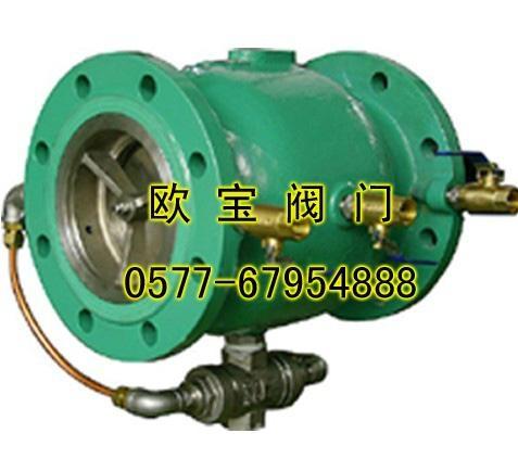 LHS743X不锈钢直流式低阻力倒流防止器 1