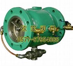 LHS743X不锈钢直流式低阻力倒流防止器