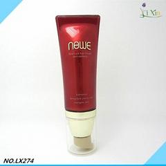 Cream tubes plastic empty new round use korean material acrylic cosmetic korea t