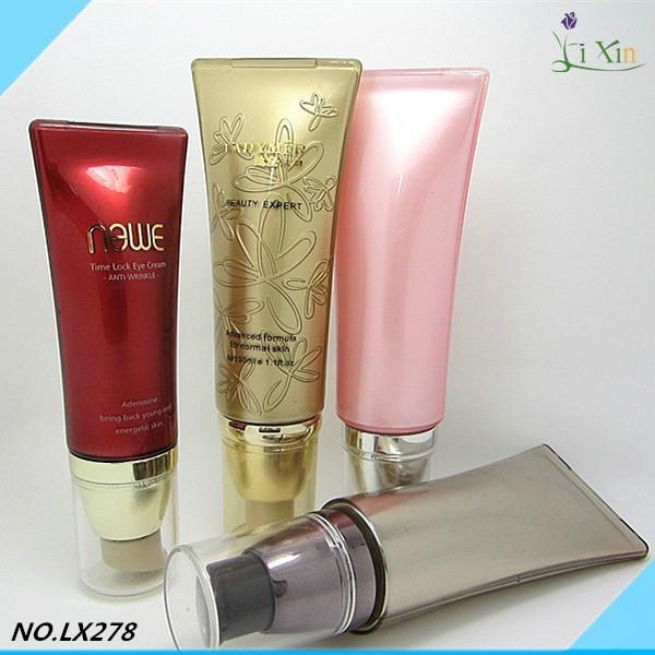 Cream tubes plastic empty new round use korean material acrylic cosmetic korea t 5