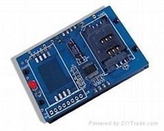 BZ534X PSAM卡Mifare接触式IC卡读写核心模块