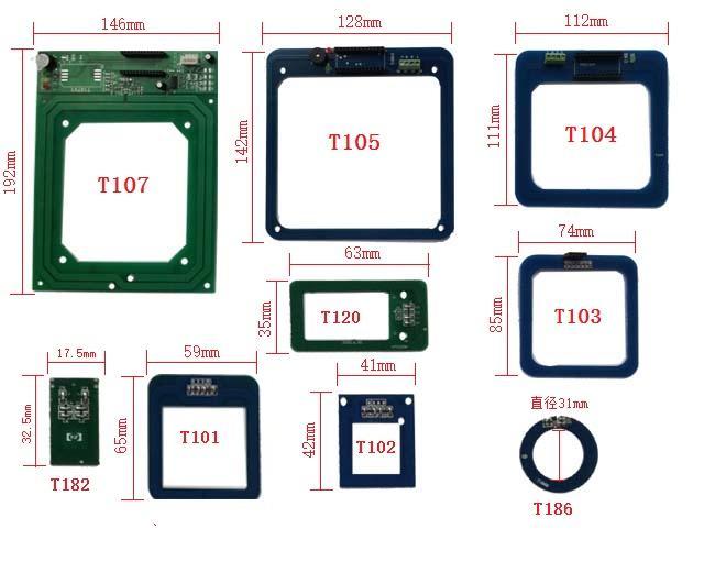 ROHS2.0 13.56MHz T10x ID/IC卡模塊天線-廠家 1