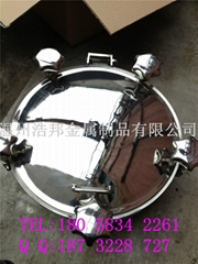 温州人孔厂家批发定做不锈钢法兰人孔