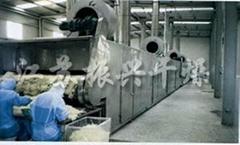 DWC系列脫水蔬菜帶式乾燥機