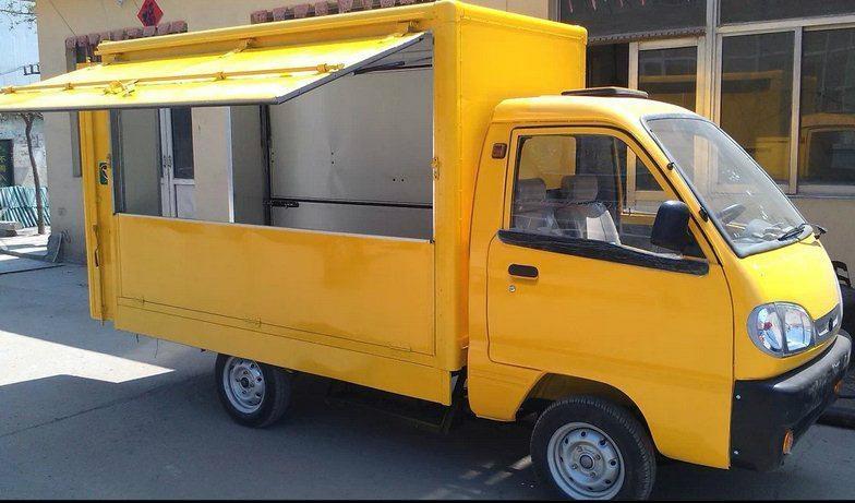 电动送餐车 2