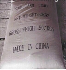 soda ash or sodium carbonate