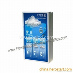 outdoor lcd totem 32 inch  Outdoor advertising player