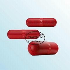 2014 hot selling microphone hands free call mini nfc legoo portable bluetooth sp