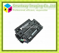 compatible black toner cartridge CE255A CE255X