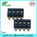 Smt Smd IC Type Micro Switch Dip 4